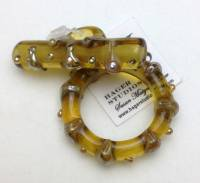 Amber Luster Toggle
