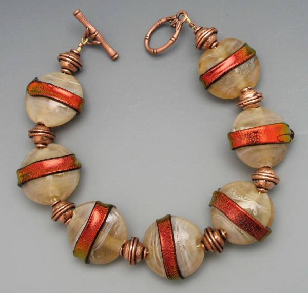 Copper Flash Bracelet