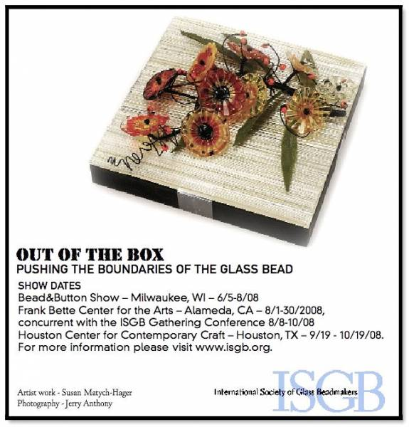 ISGB Ad from ORNAMENT Magazine, Summer 2008
