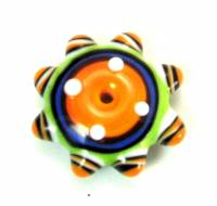 Summer Brights Butter Yellow Fancy Disk Bead