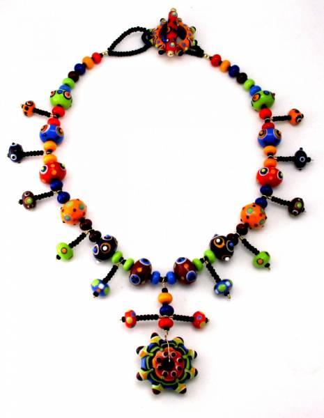 Kalaidescope Necklace