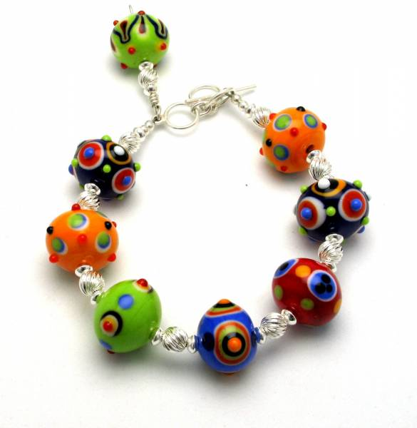 Summer Brights Large Bead Bracelet